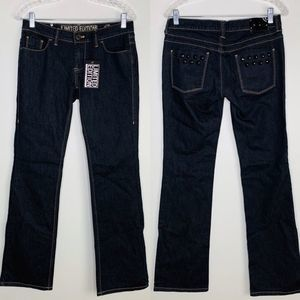 NY & Co Jeans Limited Edition Rhinestone 4 Bootcut